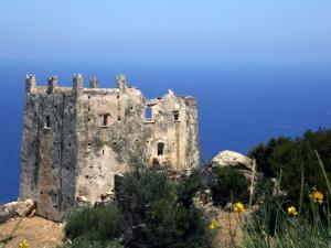 Wachturmruine auf Naxos