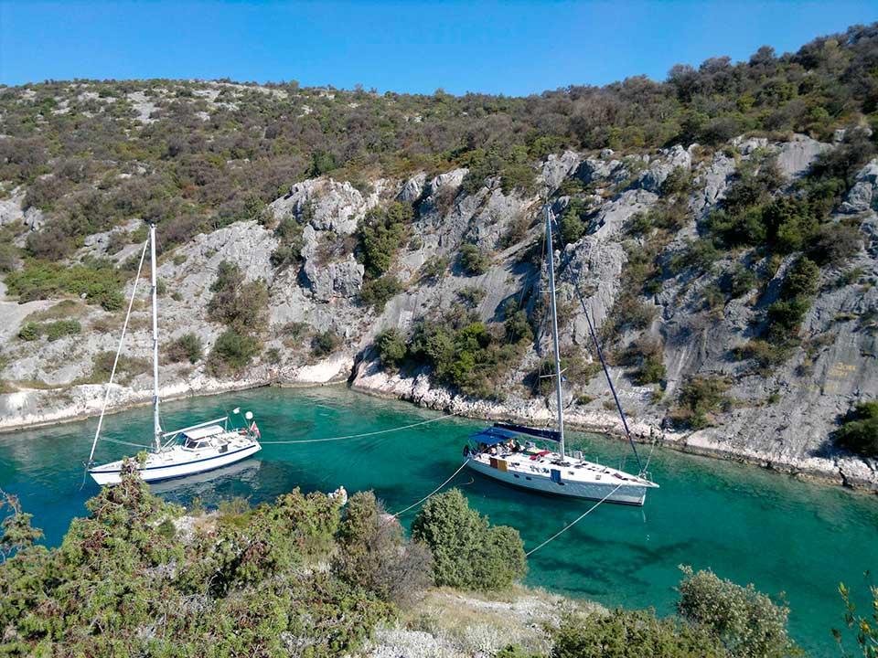 Segeln in Kroatien mit Skipper